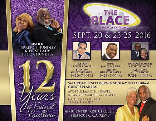 Pastors Anniversary Flyer