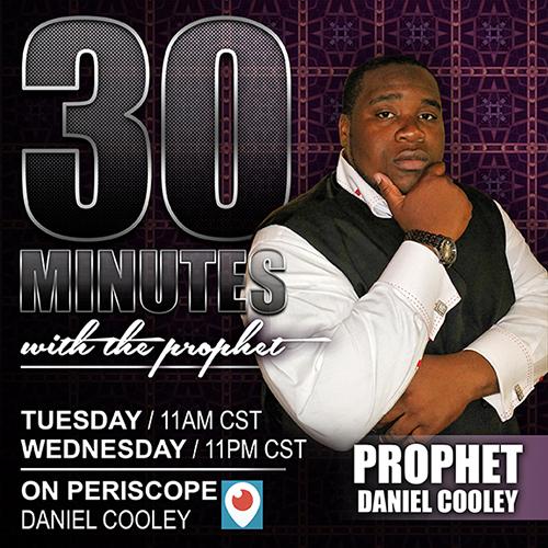 Pastor Daniel Cooley Social Media Flyer