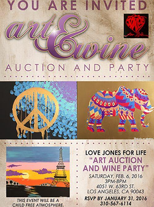 Art & Wine Flyer