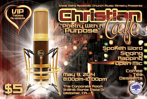 Christian Cafe Flyer
