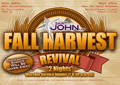 Fall Harvest Flyer