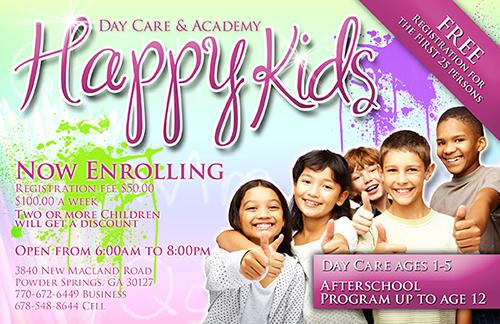 Happy Kids Flyer