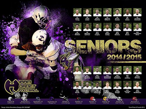 Hiram Hornets Poster
