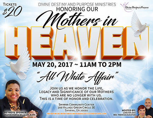 Mothers in Heaven Flyer