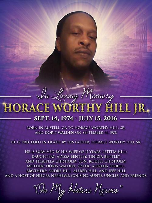 Obituary Poster