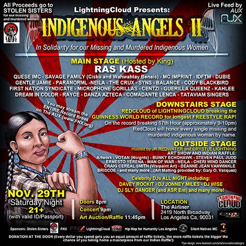 Indigenous Angels II Social Media
