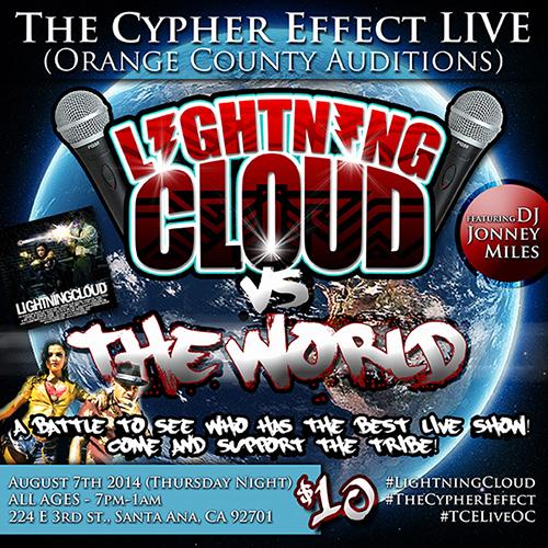 Lightning Cloud World Social Media