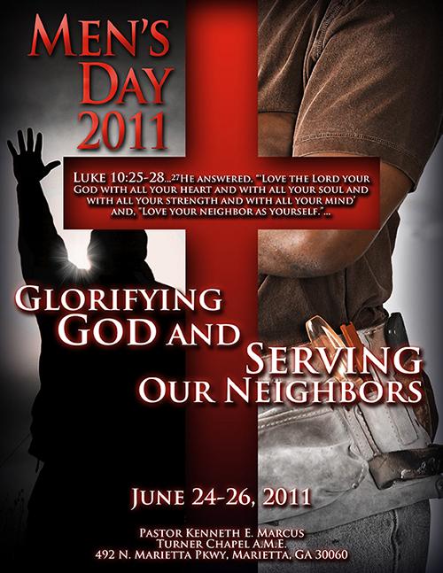 2011 Men's Day Poster