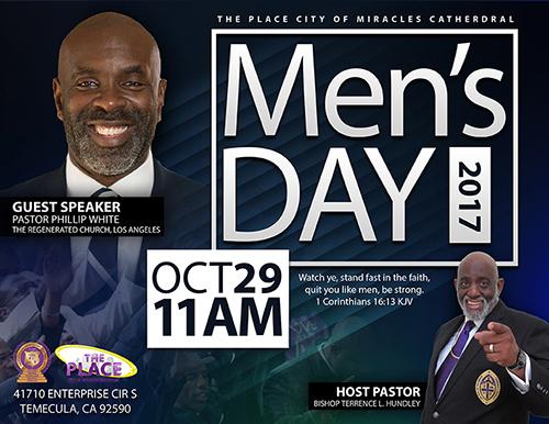 Men's Day 2017 Flyer