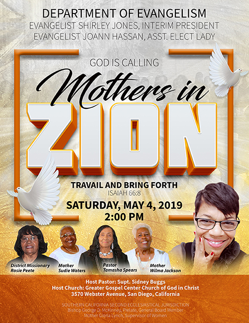 Mothers in Zion Flyer