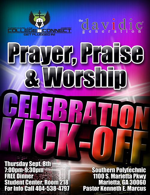 Prayer Praise & Worship Flyer