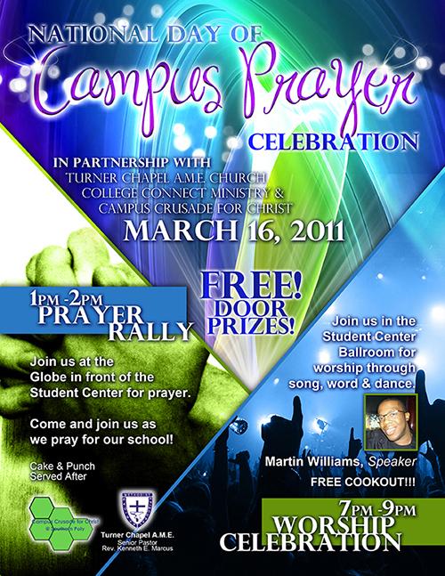 Campus Prayer Flyer