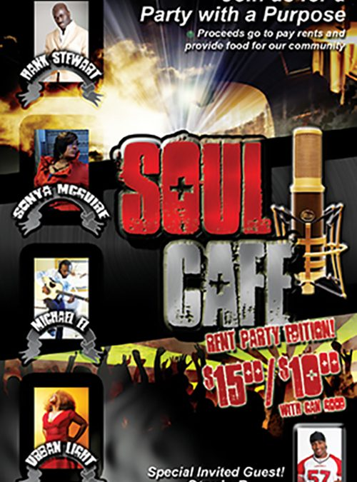 Soul Cafe Flyer