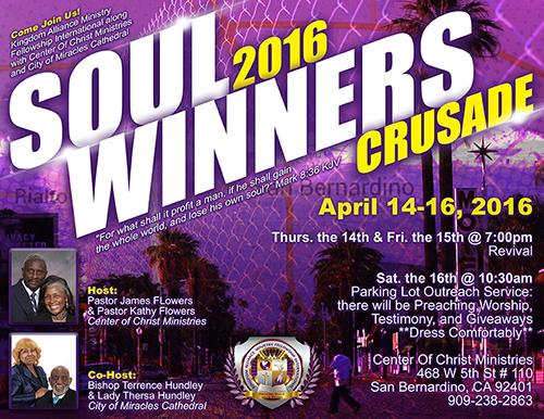 Soul Winners Flyer