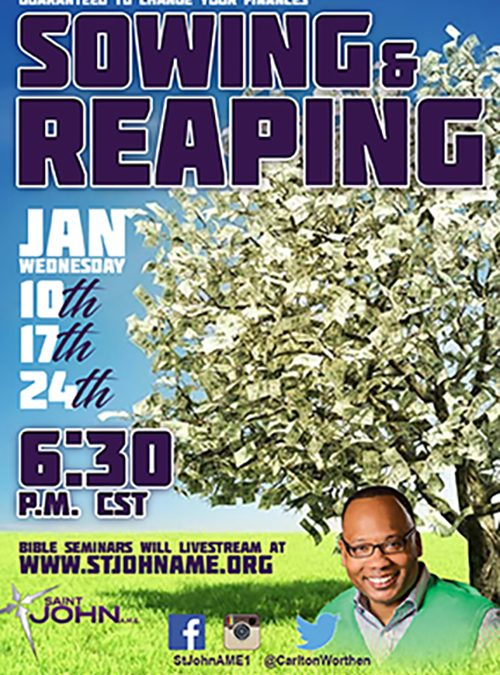 Sowing & Reaping Flyer