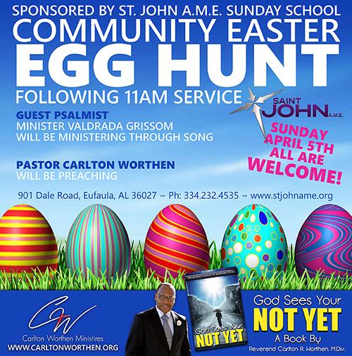 Easter Egg Hunt Social Media