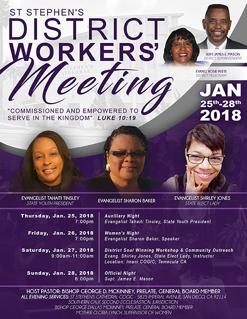 District Workers Flyer