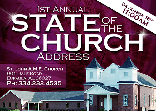 State of the Church Flyer