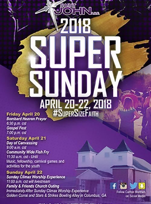 Super Sunday Post Card