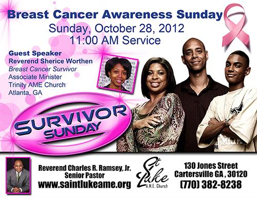 Survivor Sunday Flyer