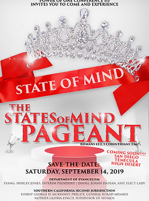 States of Mind Pageant Flyer