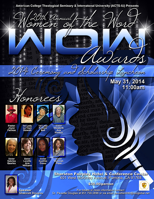 WOW Awards Flyer