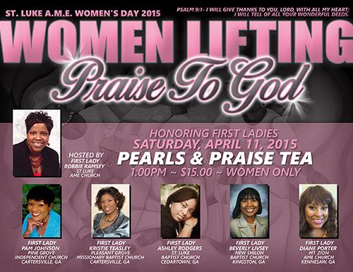 Women Event Flyer