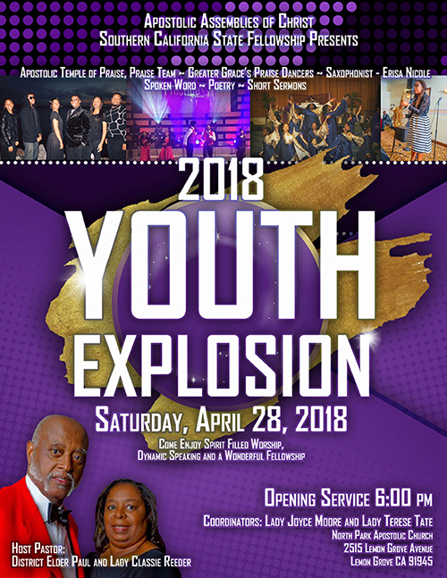 Youth Event Flyer