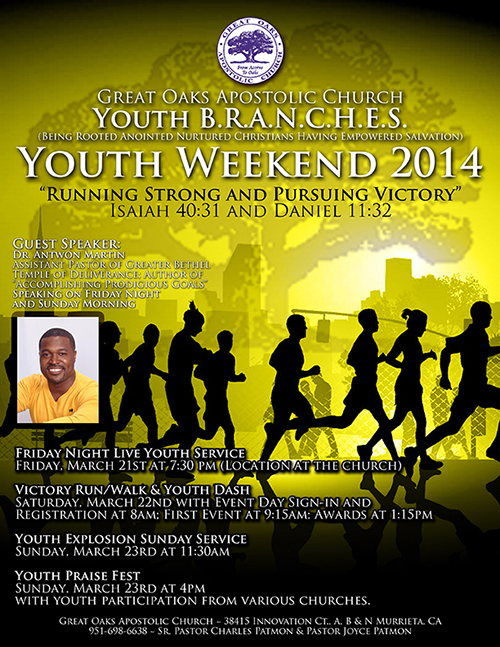 Youth Weekend Flyer